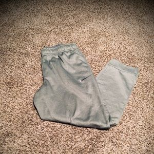 Men's grey xl Nike therma-fit athletic pants